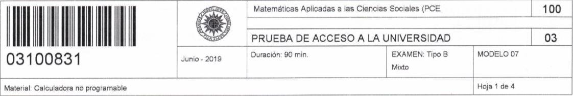 examen-pce-uned-matematicas-aplicadas-a-las-ciencias-sociales-2019