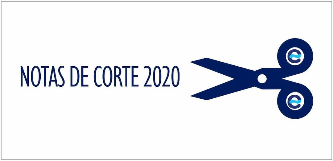 Notas de corte 2019-2020